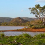 Alice Springs' own lake district