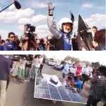 Japanese team wins solar race by half an hour
